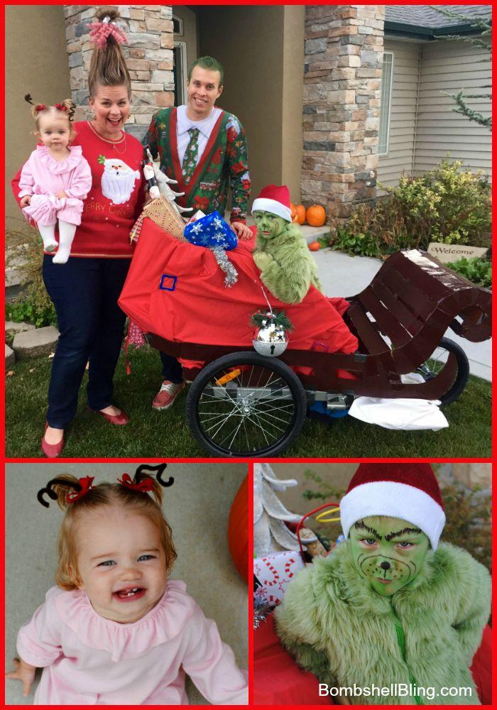 new baby family halloween costumes