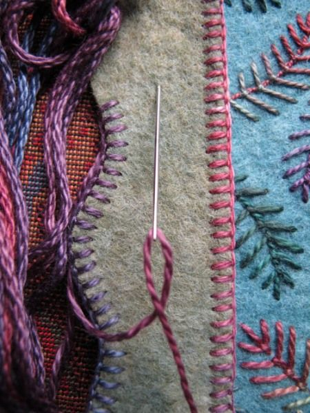 Salley Mavor - follow the connection on her blog and see the incredible wool projects.