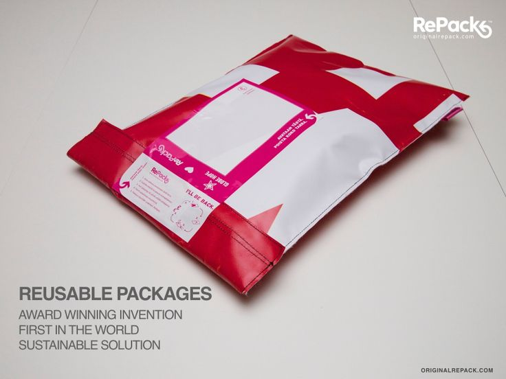 Award winning reusable packaging solution.