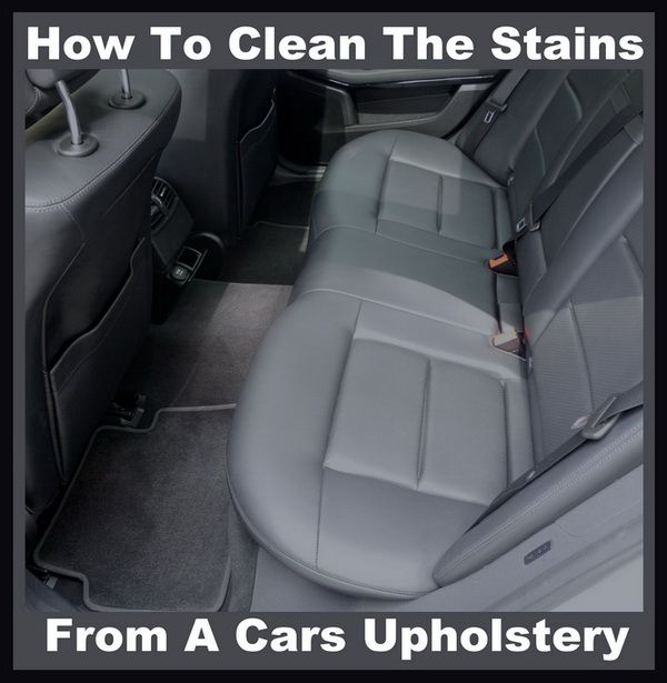 905031133da336bad0c9c65be7dff0ab  car upholstery household tips - How To Get Food Grease Stains Out Of Car Upholstery