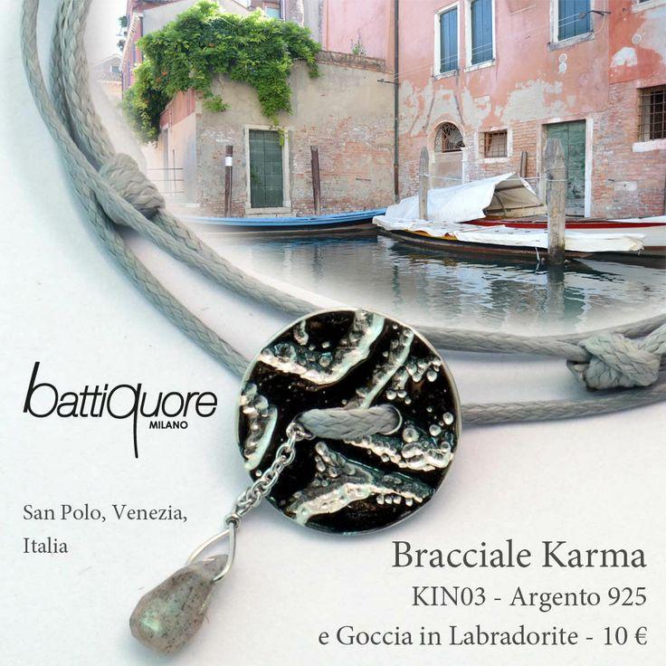 Ven#cartoline Battiquore, nuovi bracciali Karma #newcolor #grey #venezia... sceglilo del tuo colore preferito ed indossalo insieme a tanti altri bracciali secondo la tendenza del momento! Lo trovi sul nostro shoponline a soli 10 €, spedizione inclusa http://www.battiquore.it/shop/it/karma/129-kin03.html