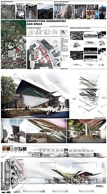 Unitec Architecture 4th Year Studio - 2nd semester project. Site is Otara, South Auckland, New Zealand.
