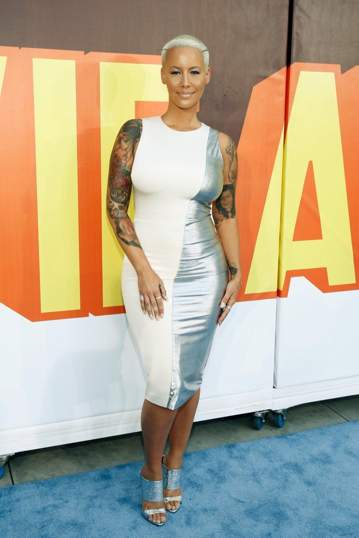 Pin for Later: Stars Stun on the MTV Movie Awards Red Carpet Amber Rose