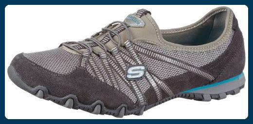 Skechers Bikers Hot Ticket 21159 CCGY, Damen Sneaker, Grau