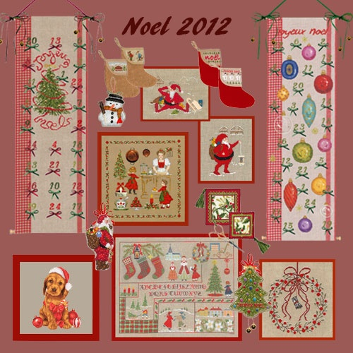 Embroidery for Noel: Le Bonheur des Dames, Paris.