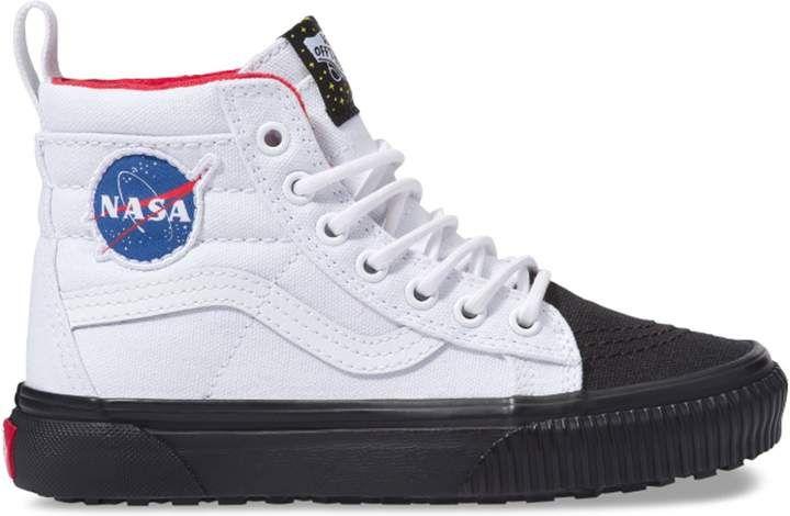 Vans Sk8 Hi MTE NASA Space Voyager True White (PS) in 2020