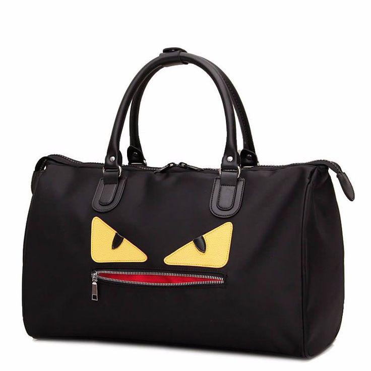 Little Monster Travel Bag Ladies Nylon Duffle Waterproof http://mobwizard.com/product/2016-little-monster-32604965721/