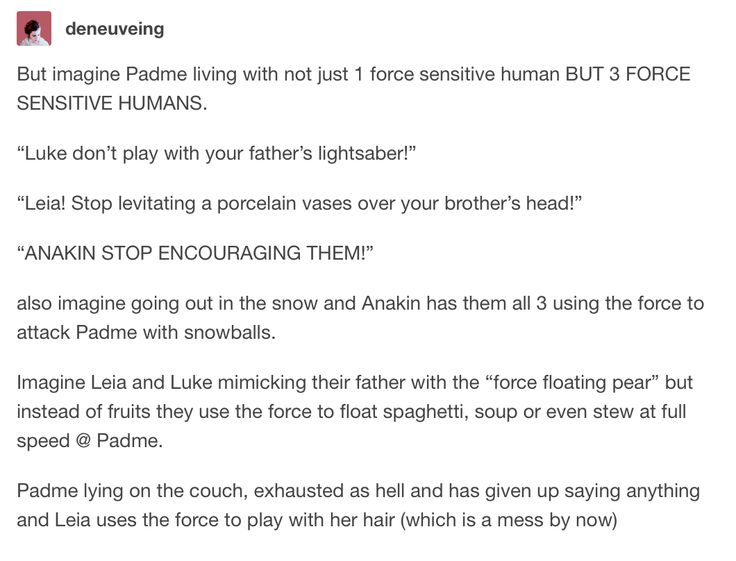 The twins force-floating spaghetti, soup or even stew at full speed at Padme.
