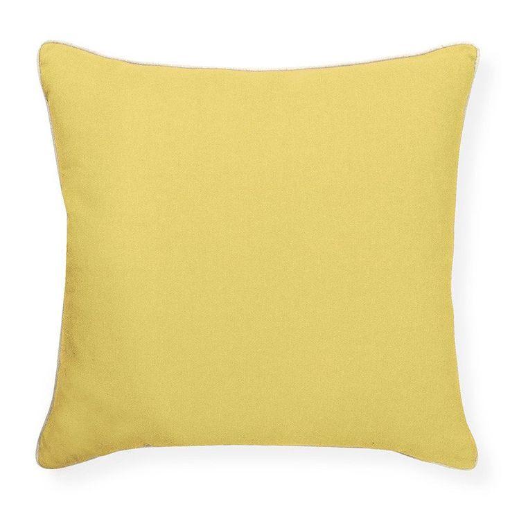 Esperance Soft Yellow Cushion 50cm