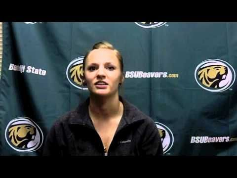 BSUBeavers.com caught up with BSU freshman outfielder Summer Monsrud as the Beavers prepare for their conference home opener this weekend.