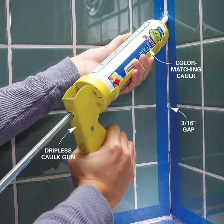 Tape Before Caulking - Use these tips for perfect results every time! Get tips: http://www.familyhandyman.compainting/tips/tips-for-caulking