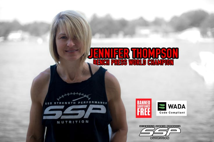SSP Success Story: World Champion Jennifer Thompson - SSP Nutrition