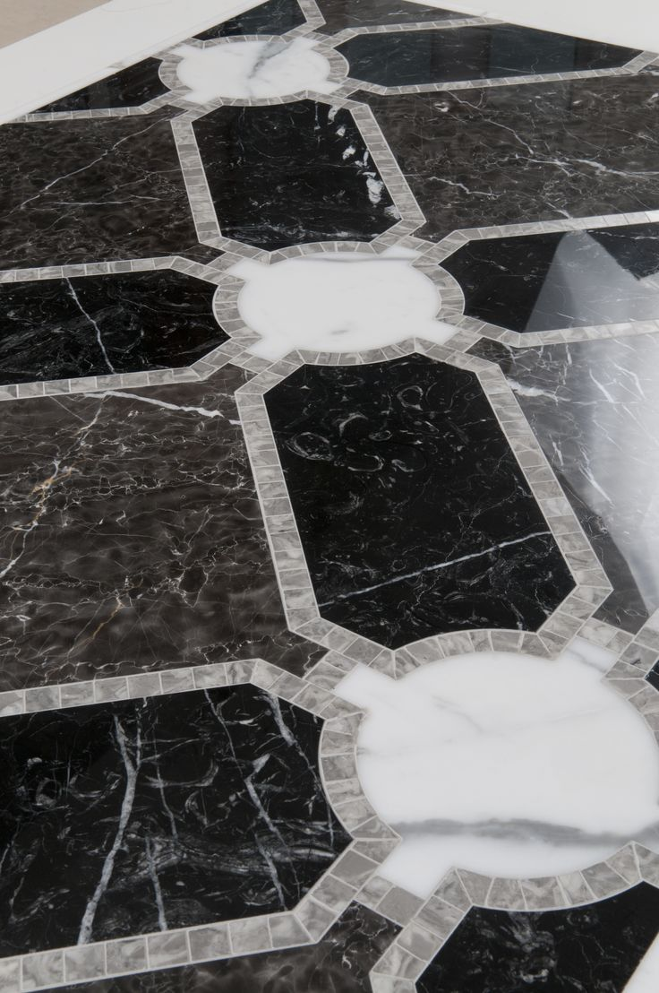 Herald Mosaic And Water Jet By Mosaique Surface Marble
