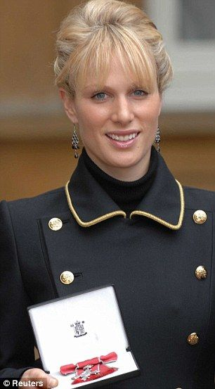 2007: Her mother denied Zara a royal title, but she earned a more meaningful honour when she was made an MBE by her grandmother, the Queen Read more: http://www.dailymail.co.uk/femail/article-1340674/Zara-Phillips-Mike-Tindall-engagement-Boys-bikinis-pratfalls.html#ixzz2IrazbIB9