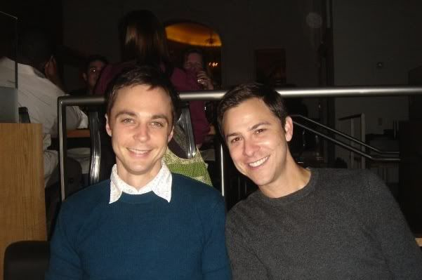 Jim Parsons and his pa...