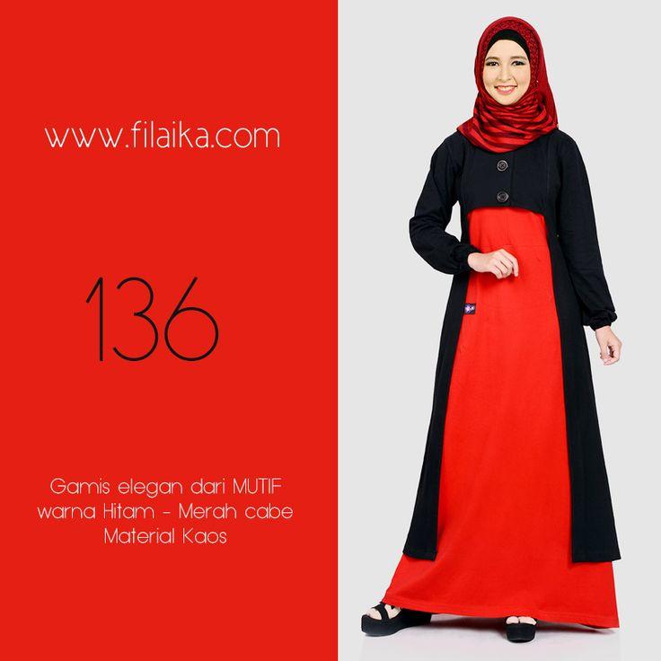 Gamis Mutif 2016, Mutif 136. Dapatkan item ini di distributor resmi Filaika.com Hubungi : SMS / Whatsapp : 08123831280 BBM : 5F03DE1D