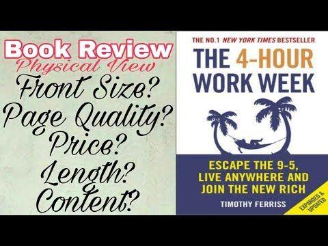 THE 4- HOUR WORKWEEK in hindi/urdu TIMOTHY FERRISS BOOK