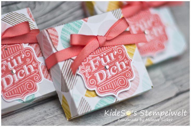 Verpackung mit dem Envelope Punch Board von Stampin' UP! und dem Stempelset Fürs Etikett