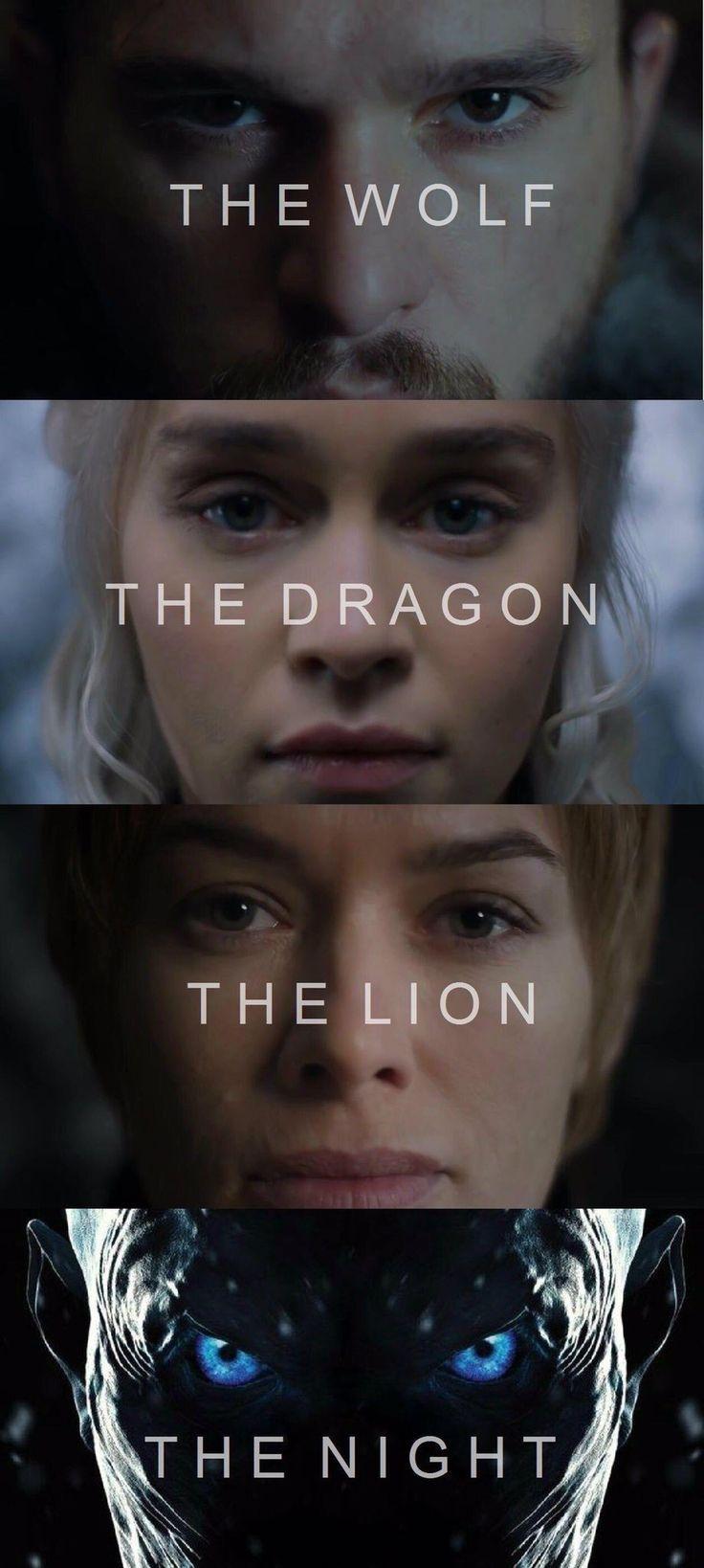 Game of thrones season 7 fan art edit. Jon Snow, D…