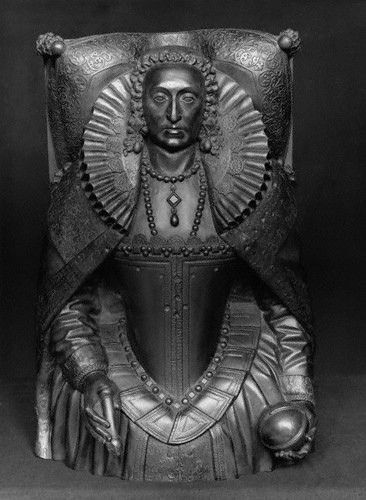 A cast of the tomb effigy of Queen Elizabeth I   Flickr - Photo Sharing!