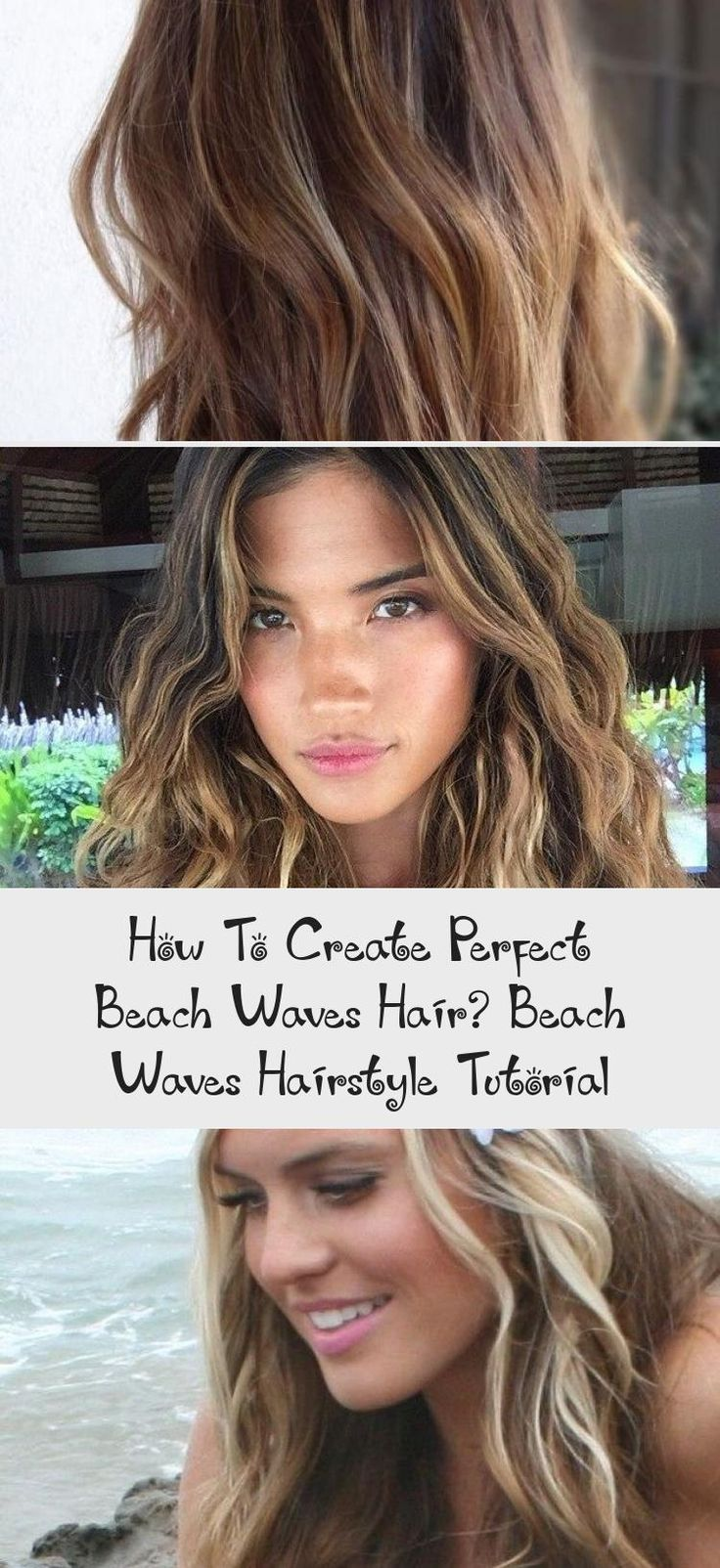 How To Create Perfect Beach Waves Hair? Beach Waves Hairstyle Tutorial | Beach wave hair, Beach ...