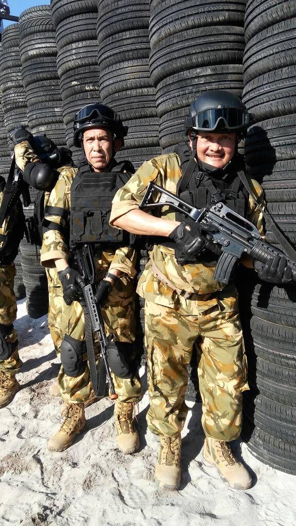 Gubernur Sumsel Alex Noerdin ikuti latihan militer yang diikuti Gubernur se-Indonesia di Kepulauan Natuna Riau. #AlexNoerdin #ANforRI