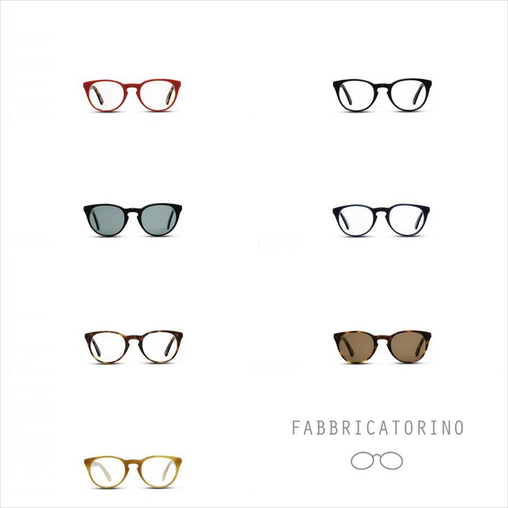 ITALIAN HANDEMADE- FASHION EYEWEAR- FABBRICATORINO