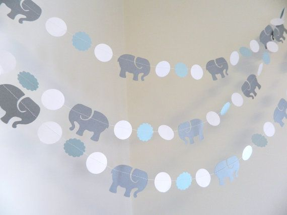 Guirnalda de elefante / elefantes bebé ducha por anyoccasionbanners