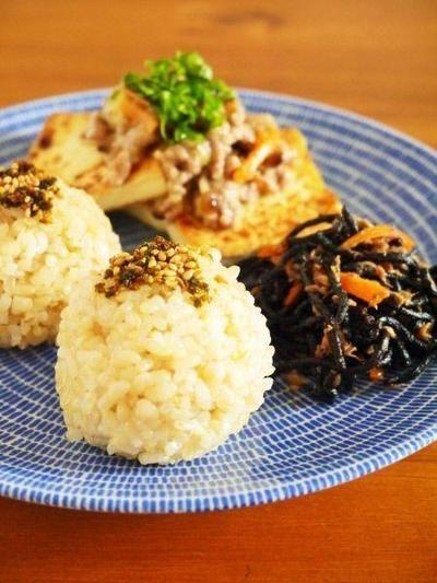 缶詰で常備菜レシピ!ツナひじき旨煮と豆腐えのきそぼろあんで朝ごはん ...