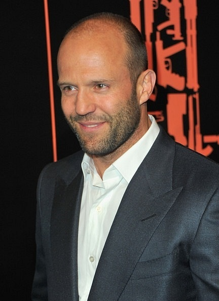 Jason Statham, in a suit or shirtless....either way its good for me.