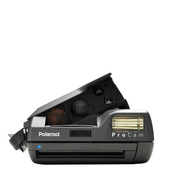 The Polaroid Spectra ProCam is a wide-format instant camera that's perfect for anyone who wants a flexible, easy to use format. Spectra is a great camera for shooting parties and events: its powerful flash is good for nighttime shots, while its rectangular format is perfect for capturing group portraits. The ProCam is a rare variation, originally made with business professionals in mind, with a flash unit that unfolds at an angle. It works with Impossible Spectra type film and has an…