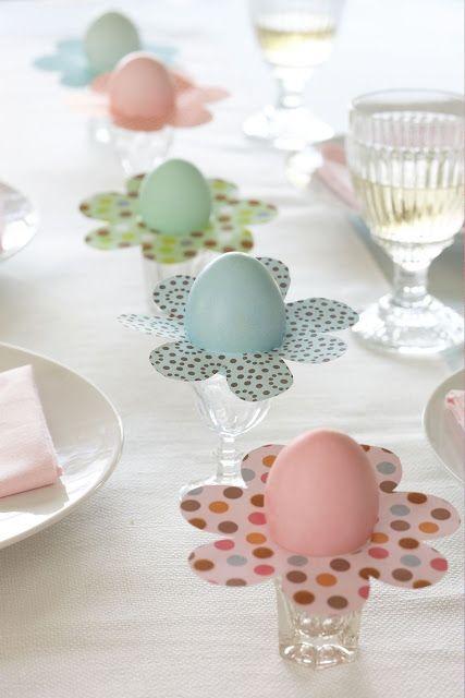Decora la mesa para pascual.   Karin Lidbeck - Pascua!