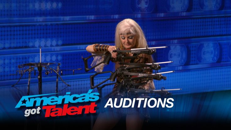 Silvia Silvia: Woman Shoots Arrows at Husband - America's Got Talent 2015