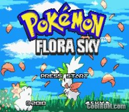 Pokemon Flora Sky (Hack) ROM Download for Gameboy Advance / GBA - CoolROM.com
