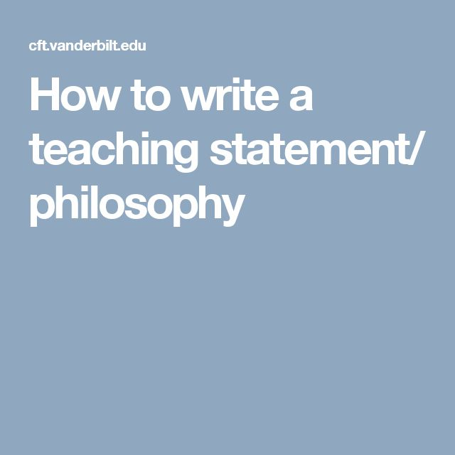 Best 25+ Teaching philosophy statement ideas on Pinterest - how to write resume for teacher