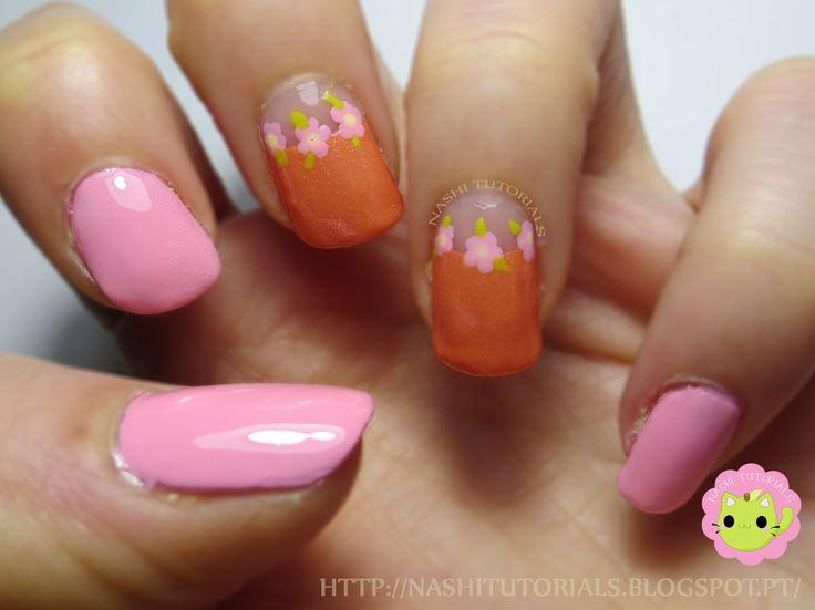 Pink and Peach Nail Art Tutorial: https://youtu.be/jpOpvOD1GBw