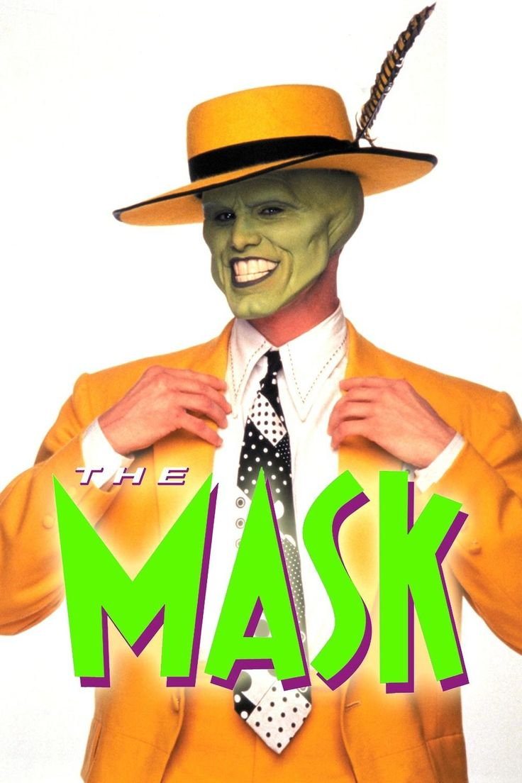 I like this costume because the mask that Jim Carrey wears not ...