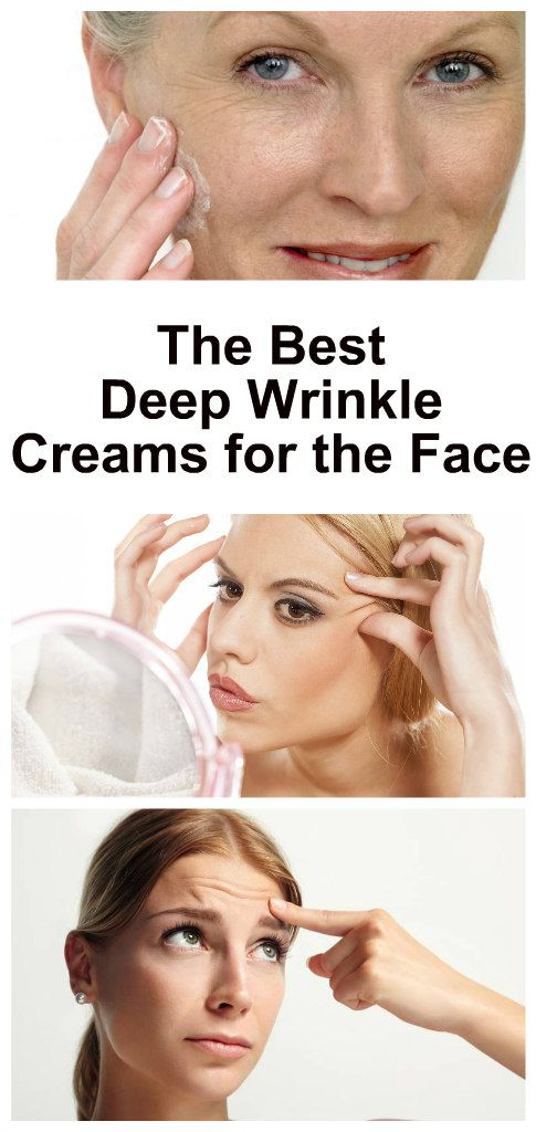 The Best Deep Wrinkle Creams For The Face