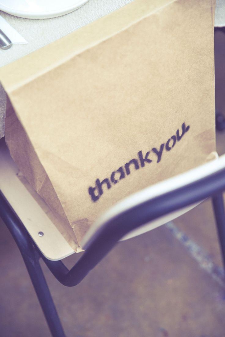 Thankyou gift bags.   www.thankyou.co