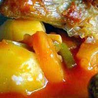 Zoetzure saus voor bij de rijst en vlees gerechten