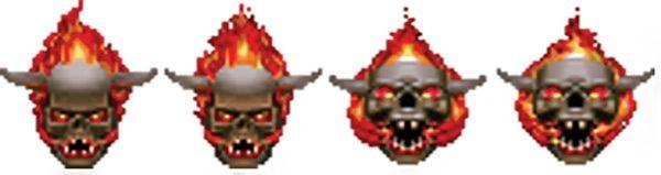Lost soul - Doom video game monster
