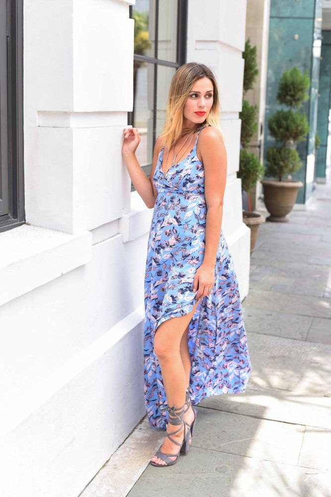 Kicking off the last summer weeks with my final summer looks with this gorgeous summer maxi