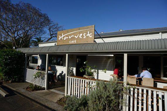 Vogue's guide to Byron Bay - long lunch at Harvest Cafe