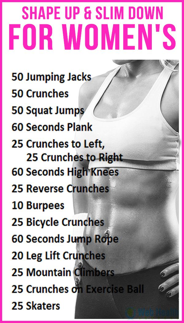 how to get in shape fast female