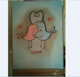 The Art of Love- painting | MyMisi | Buy and Sell Handmade