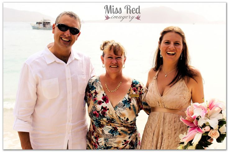 Fitzroy Island wedding photo by Miss Red Imagery and celebrant Rhapsody Ceremonies