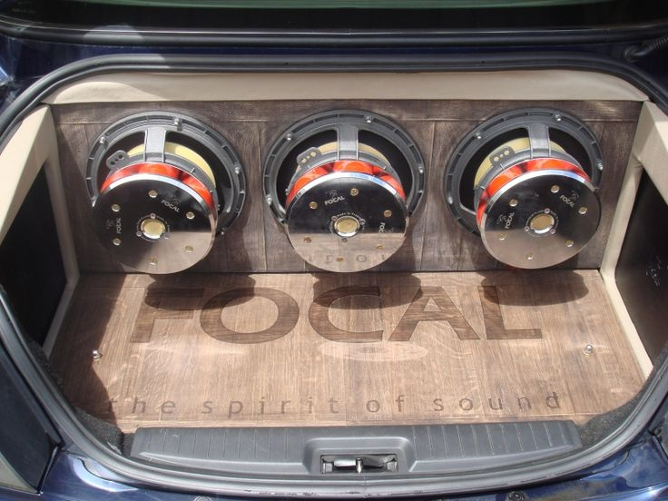 A #Focal #Car installation
