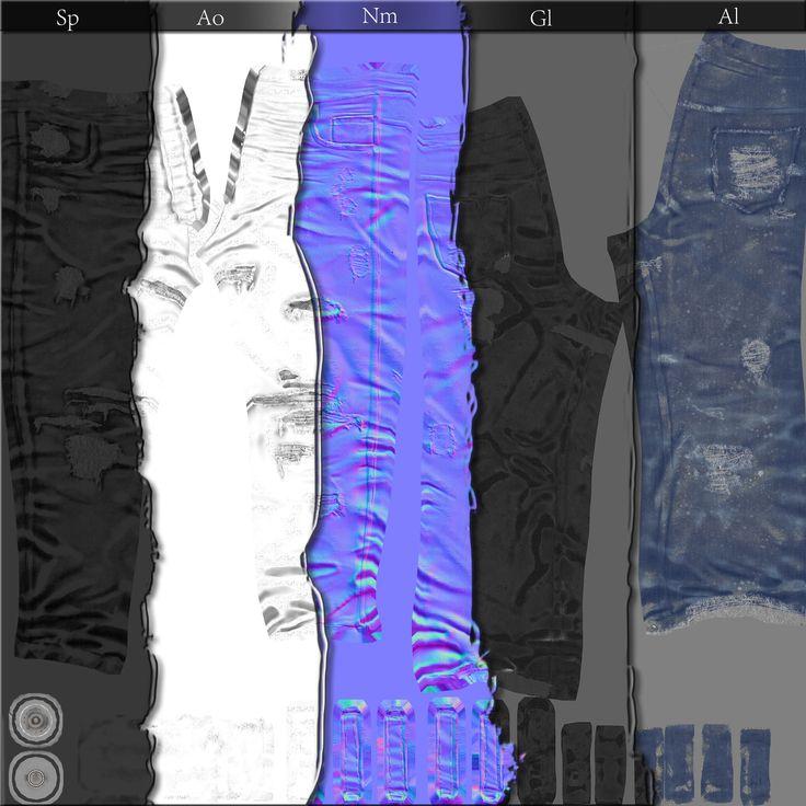 Survivor pants maps