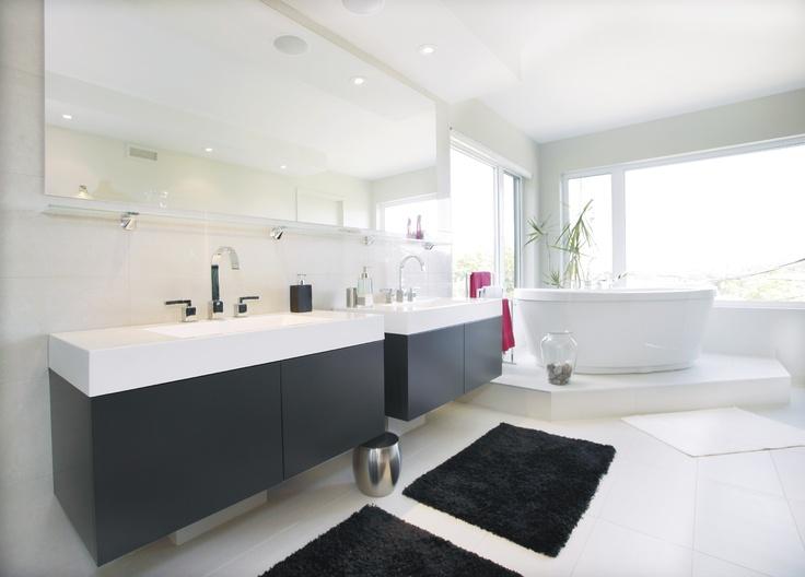 Salle de bain réalisée par Richard & Levesque design Stéphanie Levesque (monliv)
