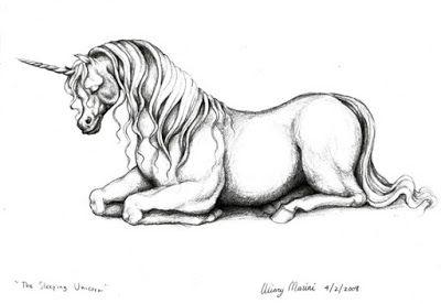 Art and Lore: The Sleeping Unicorn